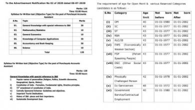 Photo of JKSSB Recruitment 2020 for 1889+ Accounts Assistant / Graduates Posts
