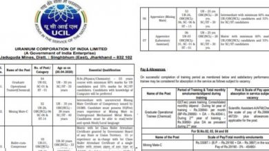 Photo of UCIL Recruitment 2020 for 136+ Graduate Trainees, Mining Mate-C, Apprentice, Driver-B and Other