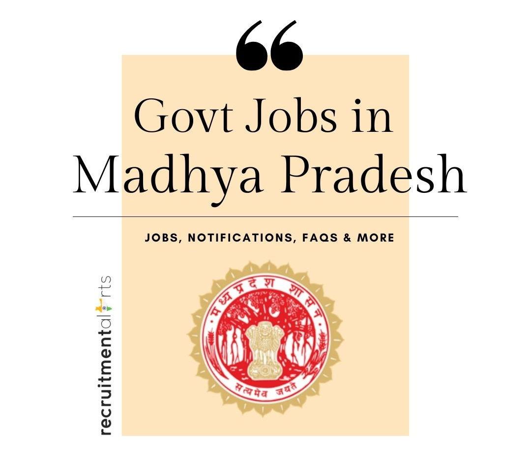 MP Govt Jobs 2020 - 2021