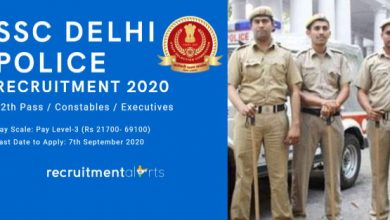 Photo of SSC Recruitment 2020 for 5846+ 12th Pass / Constable (Executive) Vacancies