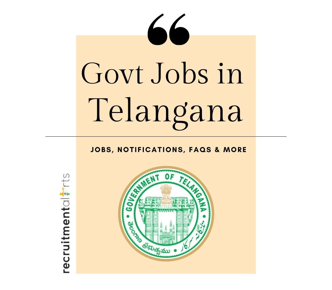 Telangana Govt Jobs 2020 - 2021
