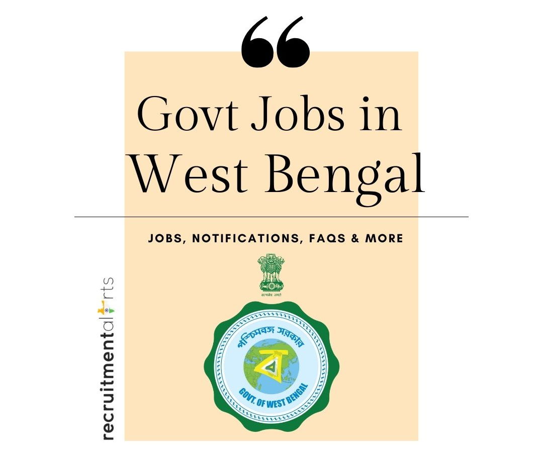 WB Govt Jobs 2020 - 2021